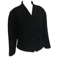 Courreges Black Cropped Jacket