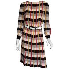 Bill Bless Red Plaid Day Dress