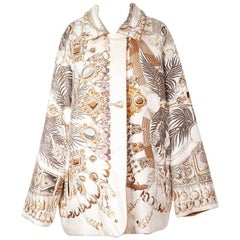 Hermes Reversible Coat