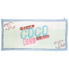 Chanel Viva Coco Cuba Cashmere Shawl Scarf