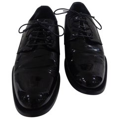 Dsquared2 black patent - vernis leather loafer