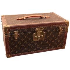 Louis Vuitton Train Beauty Case Mirror Vanity Boite Bouteilles et Glace Monogram
