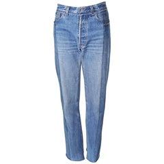 Vetements Reconstructed Denim Jeans, Winter 2017