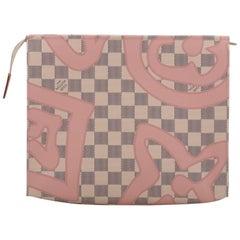 Louis Vuitton Limited Edition Tahiti Damier Pouchette