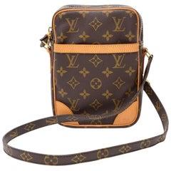 Louis Vuitton Danube Monogram Canvas Shoulder Pochette Bag
