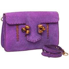FENDI Bag in Purple Peccary Leather