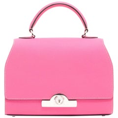 MOYNAT Bag 'Rejane' Model in Candy Pink Leather