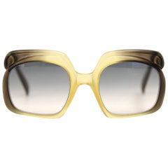 1970s Christian Dior Faded Sunglasses
