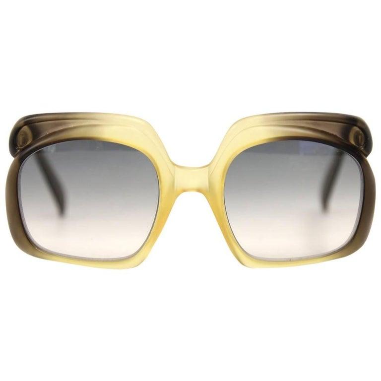 1970s Christian Dior Faded Sunglasses