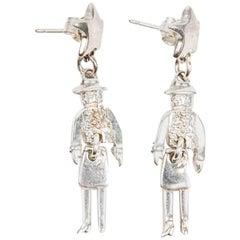 Chanel 'Coco' Stud earrings in Sterling Silver