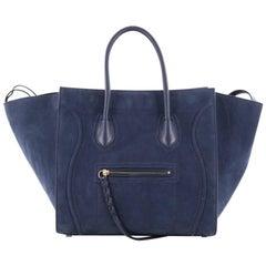 Celine Phantom Handbag Suede Medium