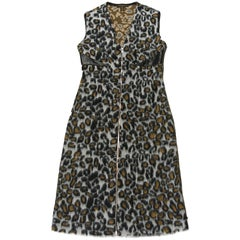 RUNWAY Dress Louis Vuitton sprinted Léopard  / BRAND NEW