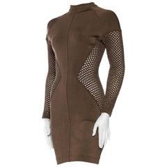 Sheer Net Alaia Dress