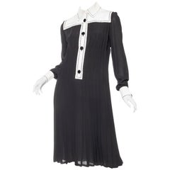 1960s Pertegaz Couture Dress