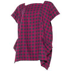 Bernhard Willhelm Tartan Shirt Dress