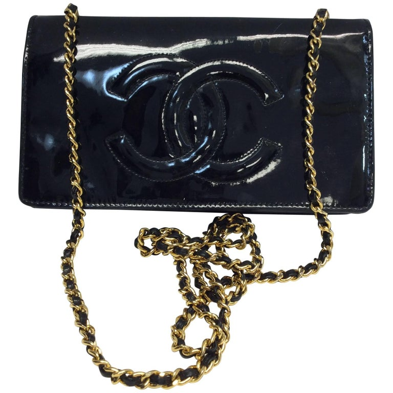 Chanel Patent Leather Crossbody For