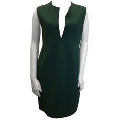 Celine Evergreen V Neck Dress