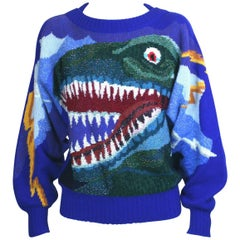 Krizia Collectible Dinosaur Sweater
