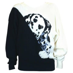 Krizia Inquisitive Dalmation Puppy Sweater