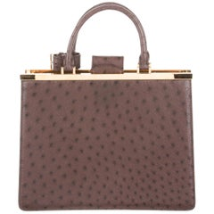 Louis Vuitton NEW Limited Edition Exotic Kelly Style Top Handle Satchel Bag