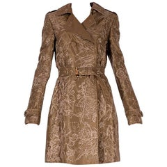 Gucci Limited Edition Embroidered and Beaded Trench Coat