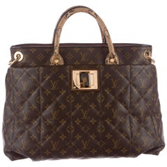 Louis Vuitton Monogram Python Large Men's Carryall Top Handle Tote Shoulder Bag