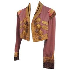 1900s Cropped Jacket w/ Brass Tassels