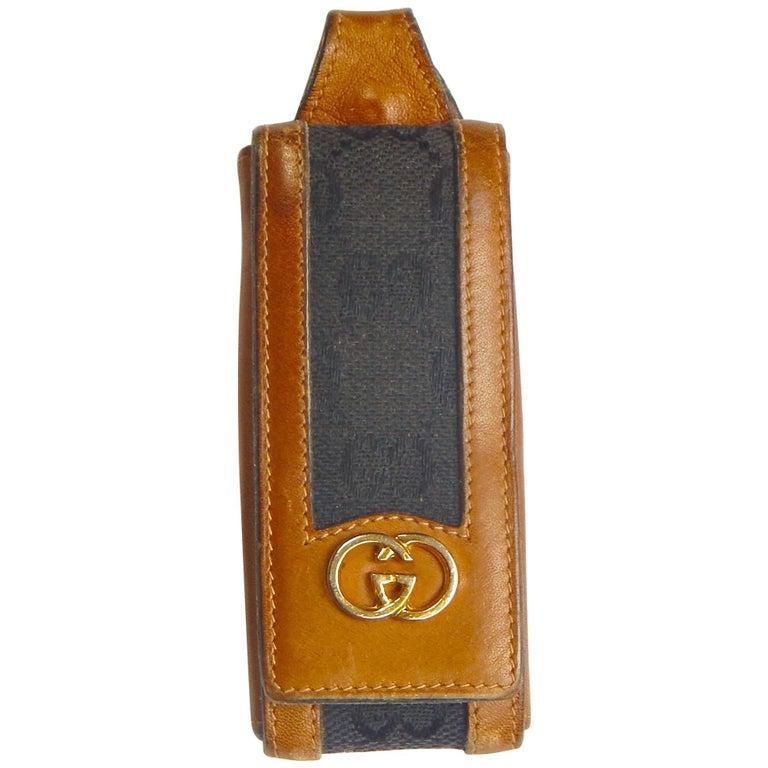 Gucci Leather Keychain