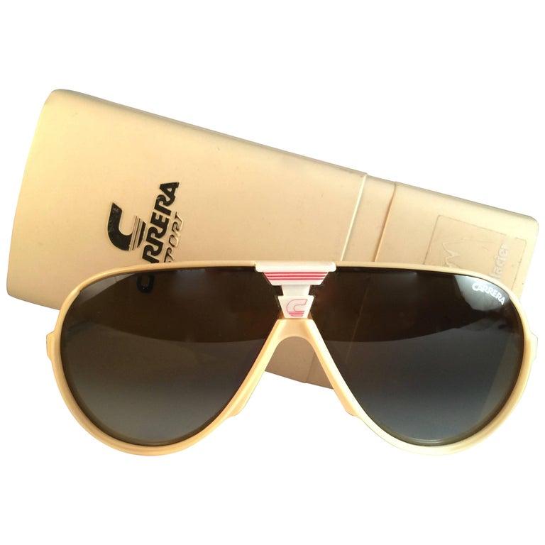 New Vintage Carrera Aviator Oversized Sports Large 1970's Sunglasses Austria