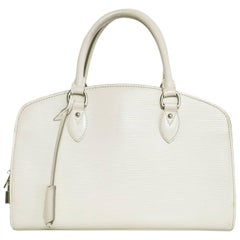 Louis Vuitton Ivory Epi Leather Pont Neuf PM Handle Bag