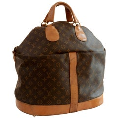 Rare Louis Vuitton The French Company Large Steamer Bag Tote Keepall Saks 70s