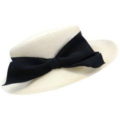 Yves Saint Laurent Boater Hat