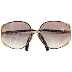 Iconic Christian Dior Oversized Sunglasses