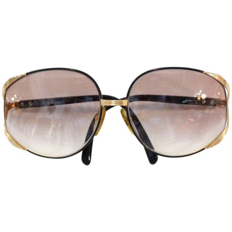 Iconic Christian Dior Oversized Sunglasses