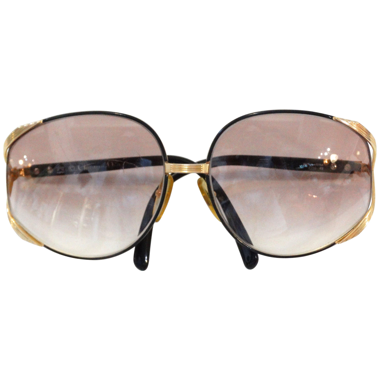 79af68e7b13e Iconic Christian Dior Oversized Sunglasses at 1stdibs