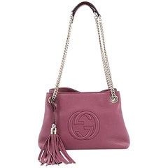 Gucci Soho Shoulder Bag Chain Strap Leather Mini