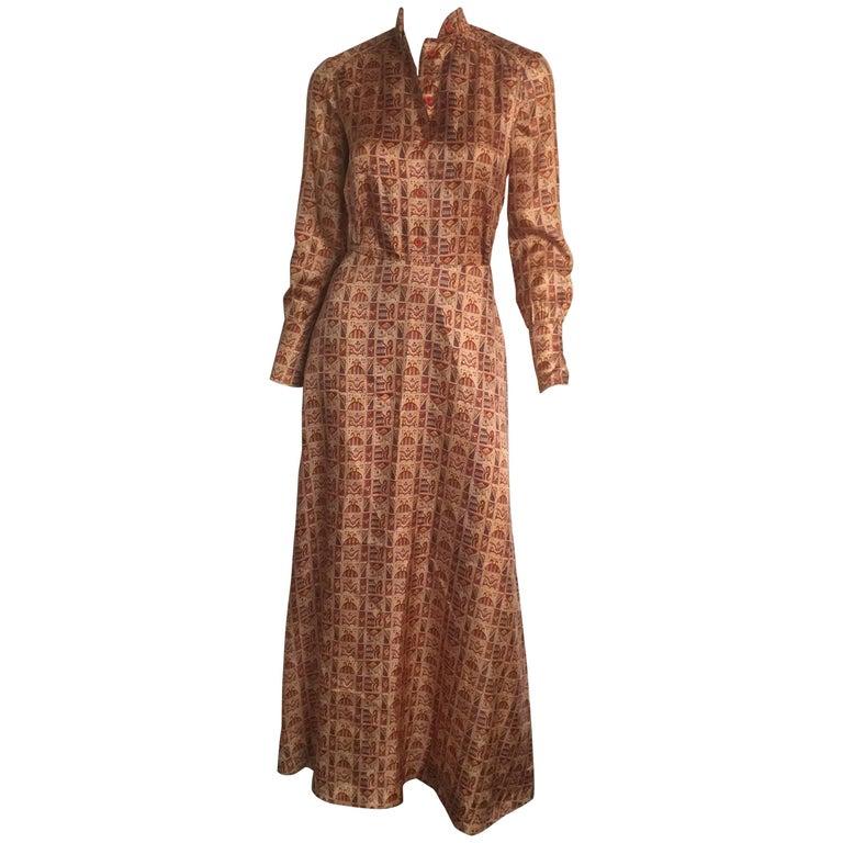 Beene Bag printed skirt and blouse set