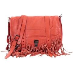 Proenza Schouler PS1 Fringe Runner Handbag Leather Large