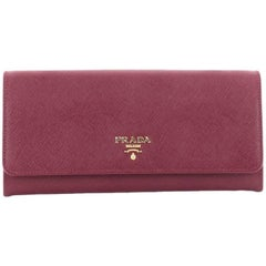 Prada Wallet on Chain Saffiano Leather