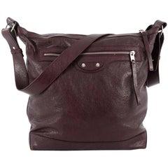 Balenciaga Arena Day Messenger Classic Studs Handbag Leather