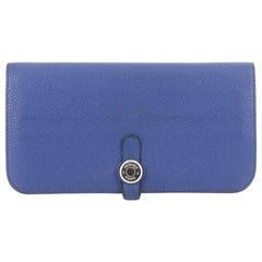 Hermes Dogon Recto Verso Wallet Leather