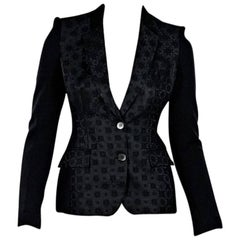 Black Stella McCartney Jacquard Blazer