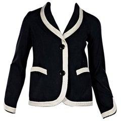 Black & White Louis Vuitton Blazer