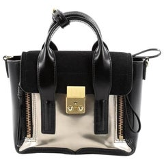 3.1 Phillip Lim Pashli Satchel Leather and Calf Hair Min