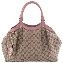 Gucci Sukey Tote GG Canvas Medium