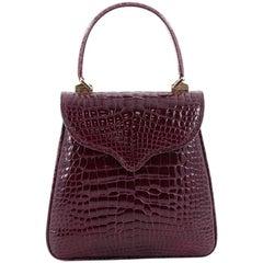 Lana Marks Princess Diana Frame Bag Alligator