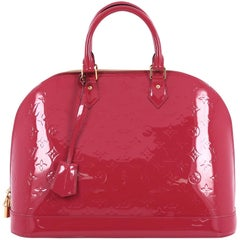 Louis Vuitton Monogram Vernis MM Alma Handbag