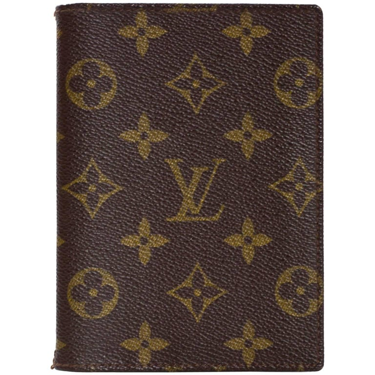 Louis Vuitton Vintage Monogram Picture/Card Holder For Sale