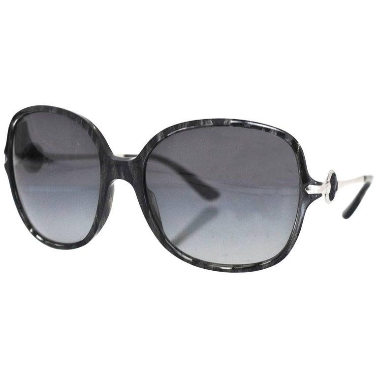 Bvlgari 8087 5155/T3 Black Tortoise Sunglasses with Box and Case