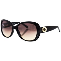 Gucci Black Crystal GG 3644/N/S Sunglasses with Case